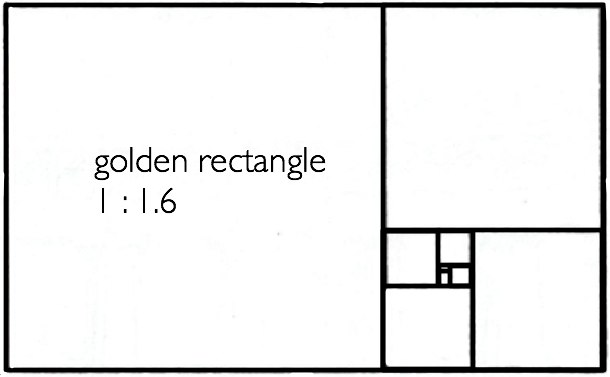 golden rectangle web design